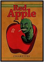 test red apple