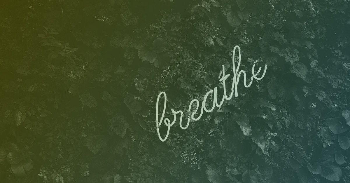 Find space to breath in an overwhelming situation