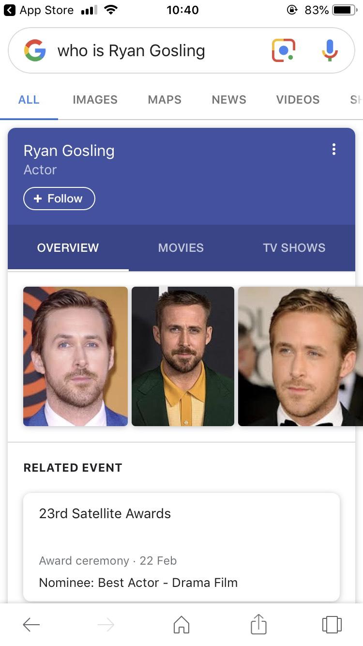 Gosling Results