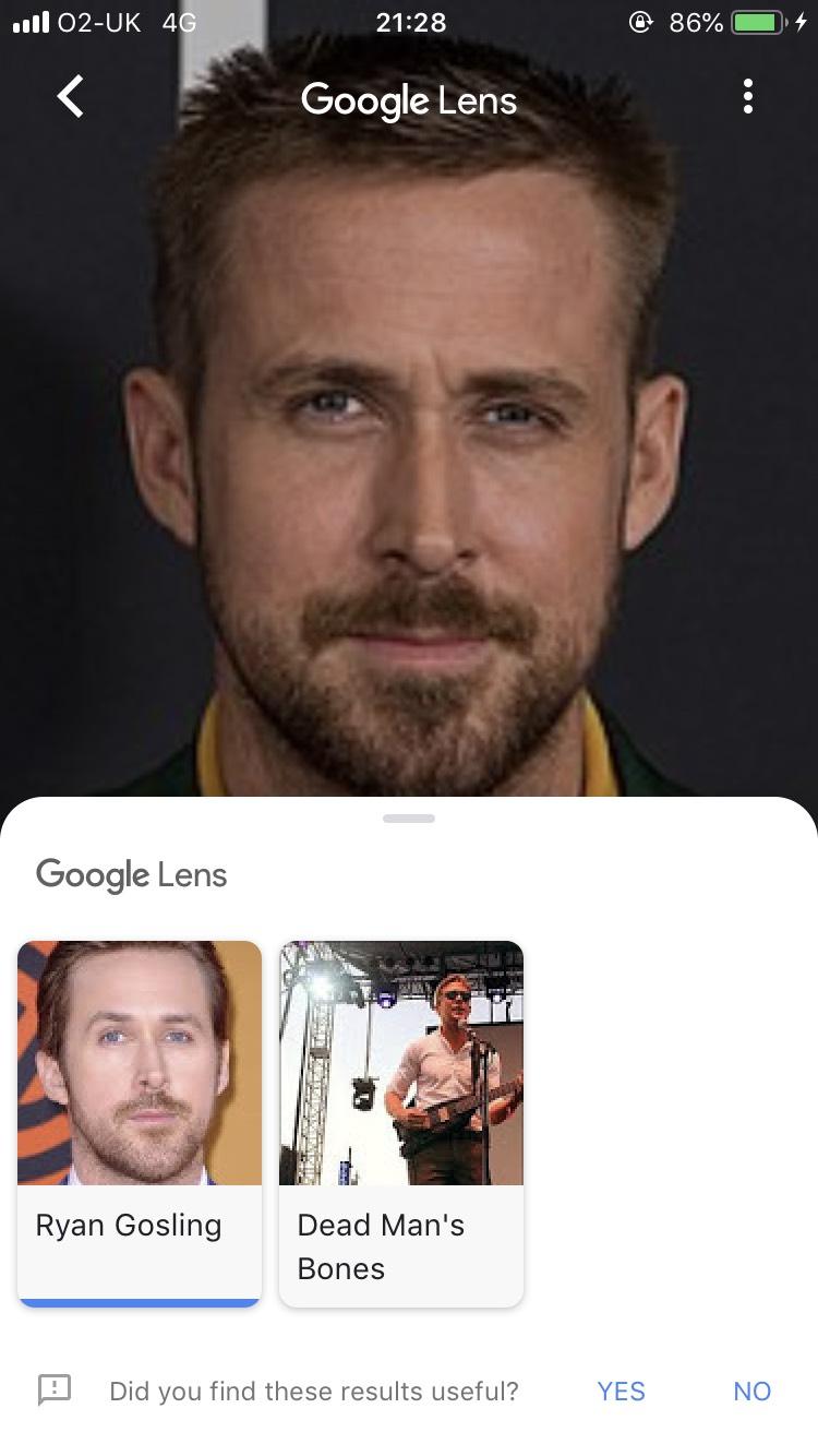 Ryan Gosling Lens